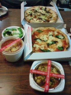 サルバトーレ・クオモのピッツァ